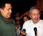 Рауль Кастро встретил президента Уго Чавеса