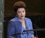 Дилма Руссефф, президент Бразилии в Генеральной Ассамблее ООН