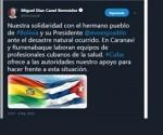 Twitter Bolivia Cuba