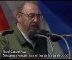 Fidel Castro primero de Mayo