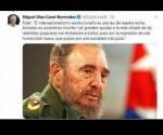 canel Fidel Twitter
